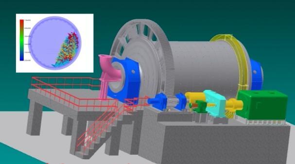 钢球、钢棒模拟运动动画视频
