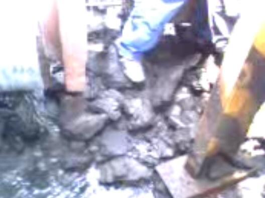 气化炉出口合成气管道堵塞疏通